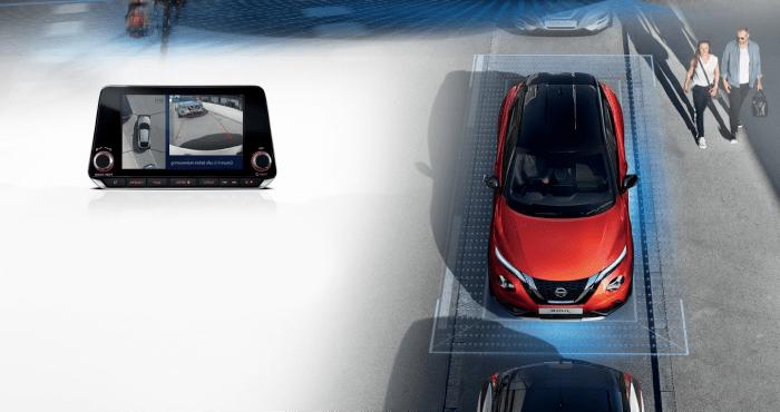 Nissan juke navigáció parkolás segéd