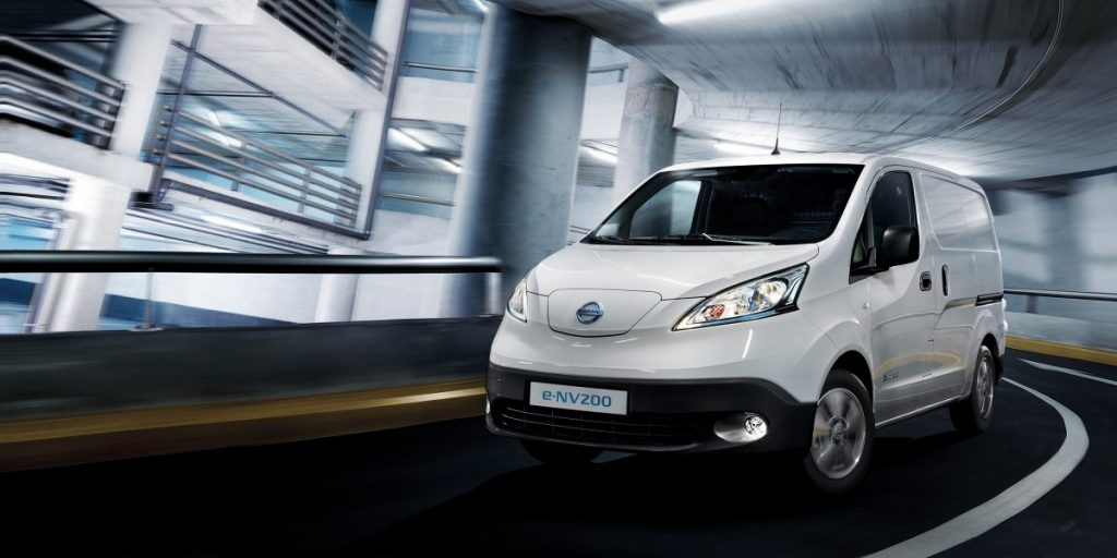 Nissan, sebesség, e-NV200, parkoló ház