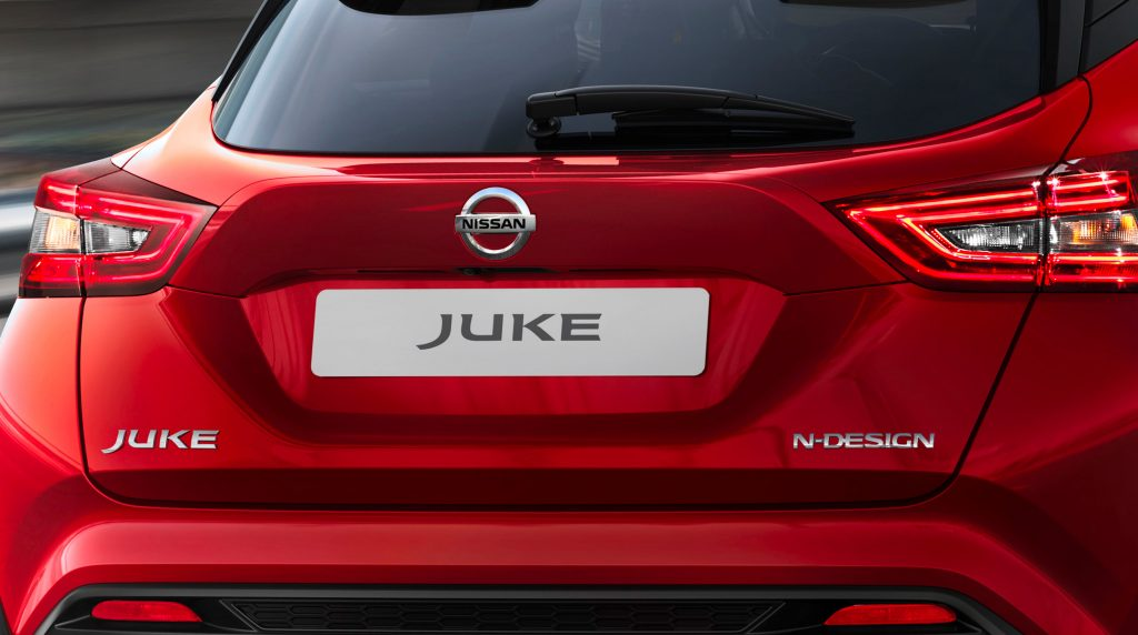 Nissan juke lökhárító hátsó fényszóró