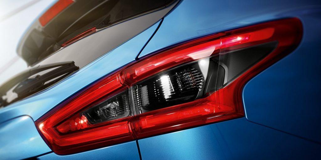 Nissan, qashqai,kék, hátul, fényszóró, kidolgozott