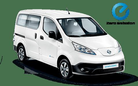 Nissan, leaf,kisbusz, fehér,elektromos