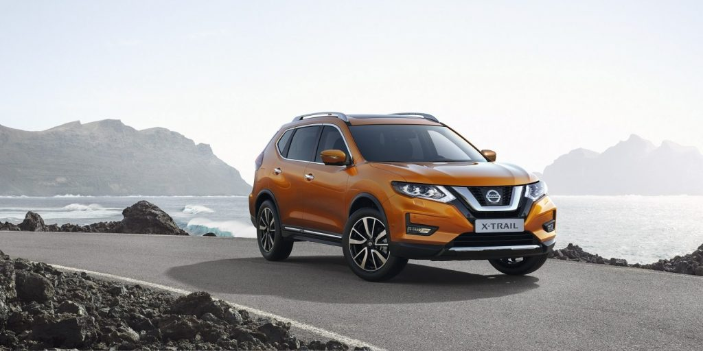 Nissan xtrail tengerpart utazásra tervezve