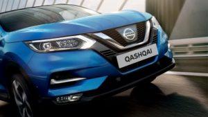 Nissan, qashqai, kék, szembőli nézet, sebesség híd