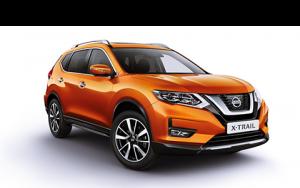 Nissan, x-trail,narancssárga, modell