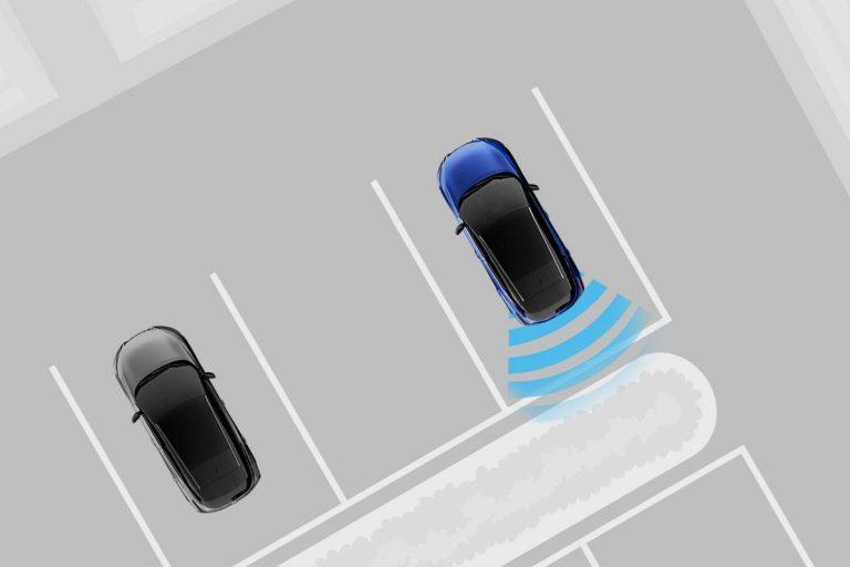 Nissan, okos, tolató radar, érzékelő