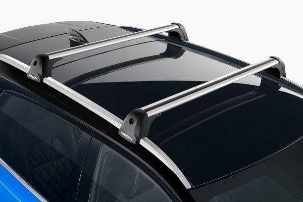 Nissan, kerékpár tartó, tető, fekete