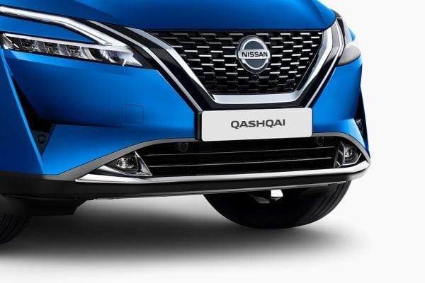 Nissan, kék,fényszóró,qashqai