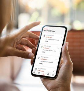 Telefon,app, alkalmazás, nissan