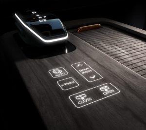 Nissan ariya automata váltó érintő képernyő