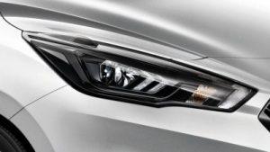 Nissan micra fényszóró kristályfényű