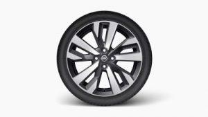 Nissan, kerék, felni, keréktárcsa