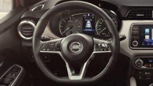 Nissan, kormánykerék, automata, gombok, szellőző