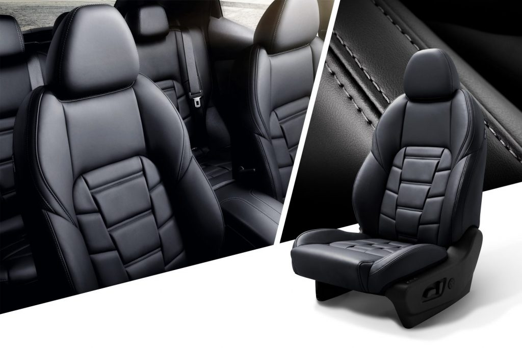 Nissan bőr ülések kényelem egyedi varrás