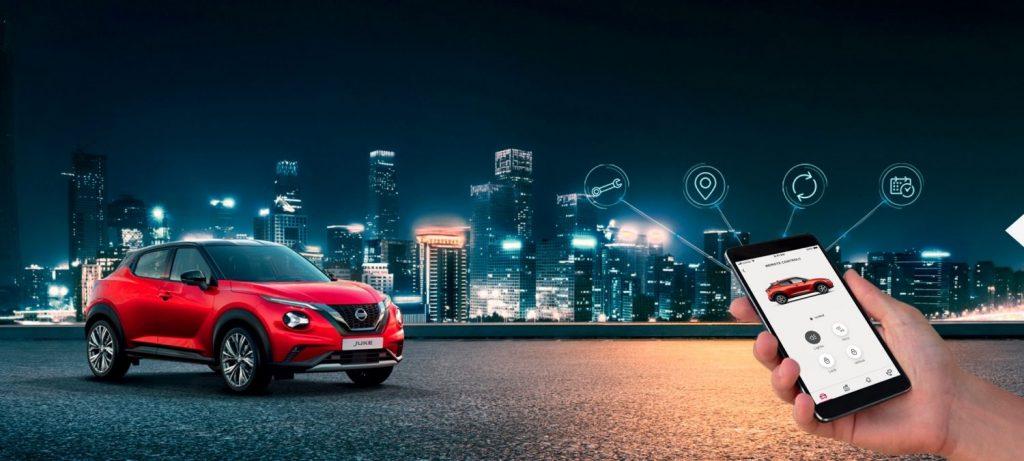 Nissan juke mobilapp számontartás