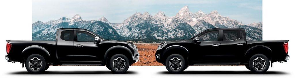 Nissan, Navara, Modellek, hegyek,