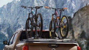 Bicikli tartó,dupla plató, hegyek, utazás, sportolás