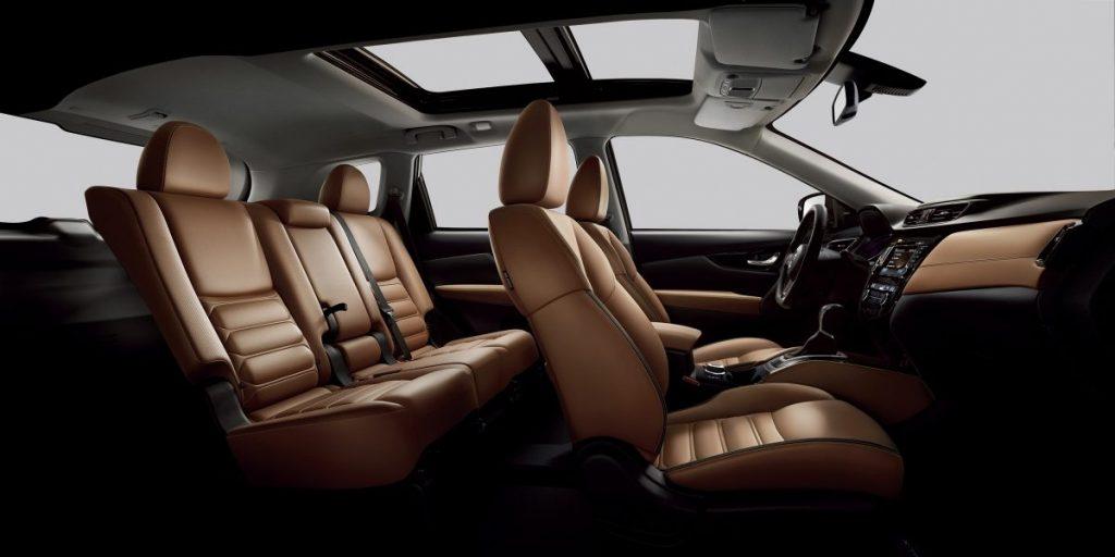Nissan xtrail bőr ülések kényelem