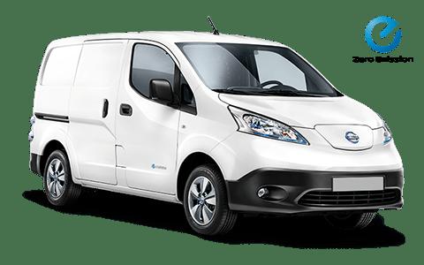 nissan, e-NV200, elektromos, fehér, furgon